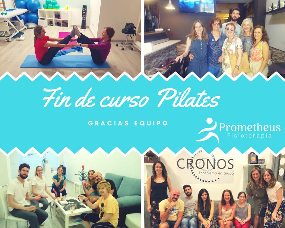 ¡Llegan las vacaciones de verano al curso de Pilates Terapéutico!